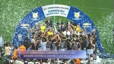Fátima comenta comemoração do título brasileiro do Corinthians - Time paulista venceu o rival São Paulo por 6x1