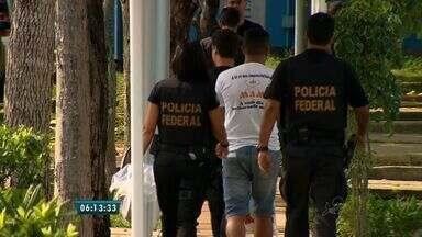 Polícia prende sete pessoas no Ceará acusadas de integrar facção criminosa - Facção atuava em cinco país da América do Sul realizando tráfico internacional de drogas.