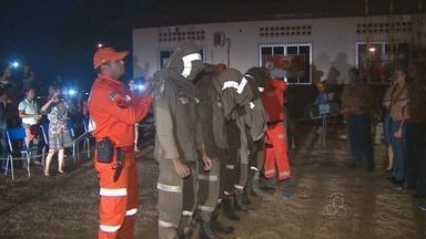 Corpo de Bombeiros realiza formação do curso de operações de busca e resgate - O Corpo de Bombeiros do Amapá realizou no fim de semana a formatura dos bombeiros que participaram do curso de operações de busca e resgate do Amapá.