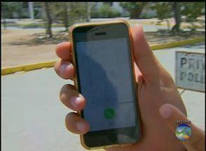 Para alertar população, PM inicia 'Operação Bloqueio' - Iniciativa tem o objetivo de alertar as pessoas para denunciar o roubo de aparelhos celulares.