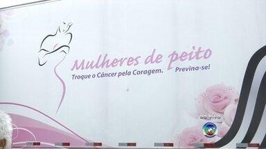 Carreta da mamografia está disponível em Itatiba - A carreta da mamografia, da Secretaria de Saúde do Governo do Estado, está em Itatiba (SP). É um caminhão onde as mulheres podem fazer exames, como a mamografia.