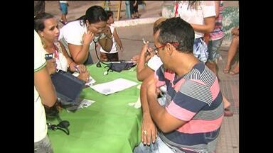Em Santarém, CTA realiza blitz educativa em combate e prevenção à AIDS - Blitz foi na orla da cidade no Dia Mundial da Luta contra a AIDS.