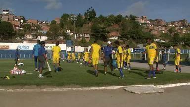 CSA começa pré-temporada no Mutange para 2016 - Azulão começou cedo os trabalhos para o Estadual, e jogadores estão focados com o título.