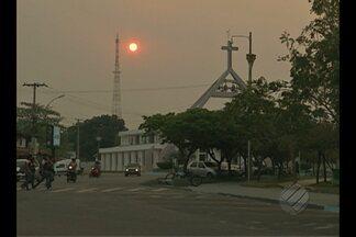 População de Paragominas sofre com o tempo seco e calor - População de Paragominas sofre com o tempo seco e calor