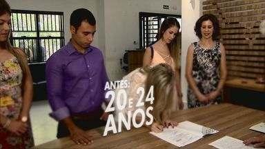 Estado de São Paulo é campeão em números de casamentos - Desde 2005, números vêm aumentando. Em 2014, foram quase 297,5 mil.