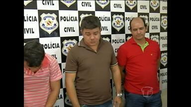 Seis suspeitos de integrar quadrilha de assaltantes são presos em Santarém - Polícia chegou até eles após 8 meses de investigação. Um dos integrantes da quadrilha atuava como detetive particular.