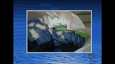 Quase 20 mil produtos falsificados são apreendidos em centros de compras - Bonés, camisas e outras peças eram vendidas em lojas de Caruaru, PE.