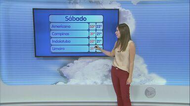 Frente fria chega ao Sudeste e pode trazer chuva neste domingo na região de Campinas, SP - A frente fria deve provocar uma chuva generalizada, ou seja, por toda região de Campinas (SP).