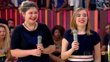 Clara e Sophia são editoras da Capitolina, revista online adolescente - As publicações buscam representar todas as mulheres e Luanne mostra vídeo inspirado no trabalho da revista