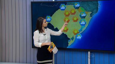 Tempo: temperaturas sobem pela tarde em todo RS nesta terça (8) - Volta a chover na maior parte das regiões na quarta.
