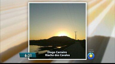 Veja fotos do amanhecer na Paraíba - Confira as fotos escolhidas para esta terça-feira.