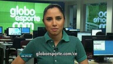 Confira os destaques do GloboEsporte.com nesta terça-feira (08) - Saiba mais em GloboEsporte.com/ce.