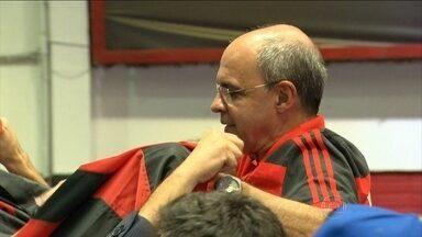 Eduardo Bandeira de Mello é reeleito e anuncia Muricy Ramalho no Flamengo - Presidente fica a frente do clube por mais três anos.