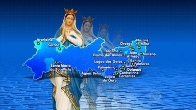 Nossa Senhora da Conceição é padroeira de vários municípios pernambucanos - Confira no mapa.