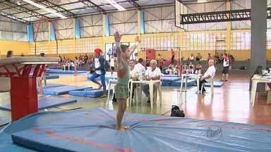 Meninos e meninas dos Jogos Abertos são o futuro da ginástica artística - Modalidade costuma revelar grandes nomes do esporte nacional.