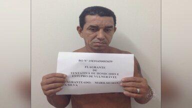 Homem é preso suspeito de estuprar menino em Manaus - Crime ocorreu no domingo (6).