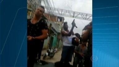 Polícia procura homem que atirou em show do Pique Novo - Hoje, os músicos disseram que não conhecem o homem.
