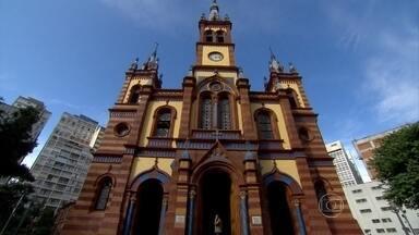 Igreja de São José em Belo Horizonte passa por nova fase de restauração - As obras começaram em 2009. O interior e a fachada têm novamente todas as características originais à mostra.