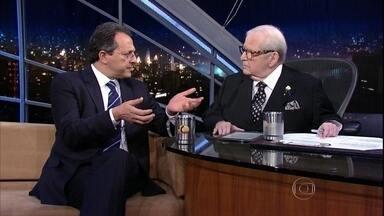 Jô Soares entrevista o médico Esper Kállas - Ele fala sobre o zika vírus, transmitido pelo aedes aegypti
