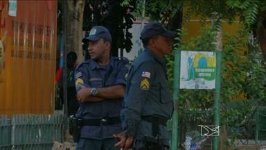 Policiamento é reforçado em Caxias, MA - O objetivo é proteger o consumidor que for às compras nas ruas do comércio da cidade.