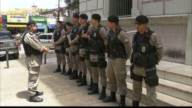 Policia Militar reforça segurança no Centro de João Pessoa - O reforço será intensificado a partir dessa sexta-feira com o início da operação de fim de ano da PM.
