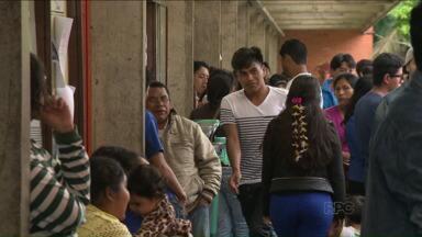 Vestibular indígena reúne quase 500 candidatos - Hoje foi o primeiro dia de provas. Amanhã tem a segunda e última etapa.