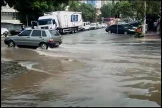 Chuva forte é registrada em Divinópolis nesta quinta - Telespectadores registraram ventania e chuva na cidade.