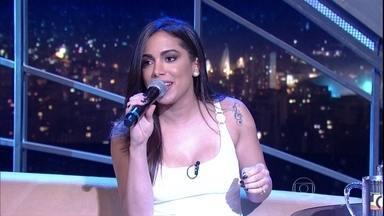"""Anitta canta """"Deixa de Sofrer"""" - Cantora está lançando novo disco, """"Bang"""""""