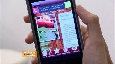 Empresário brasileiro cria aplicativo para compras de vale-presentes - Em dois meses, foram cinquenta mil downloads e um faturamento de quatrocentos mil reais.