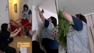 Jovem abre agência de consertos domésticos só para mulheres - Ideia surgiu depois de aumentar a preocupação com a segurança. No início a jovem faturou o dobro do salário que ganhava como editora numa produtora de vídeo.