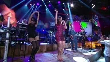 Anitta se apresenta com 'Bang' - Cantora agita o público com sua nova música