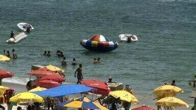 Bombeiros ganham reforços para fiscalizar praias neste verão em Alagoas - Veja também cuidados importantes com que devem ser observados ao comprar alimentos vendidos na praia por ambulantes.