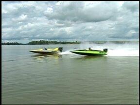 Entre Rios do Sul, RS, recebe última etapa do Campeonato Gaúcho de moto náutica - Cerca de 20 competidores participaram das provas.