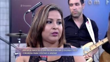 Michele parou de trabalhar para se dedicar à filha especial - Fátima conversa com a mãe de Rafaela sobre as dificuldades enfrentadas pelos pais de crianças especiais