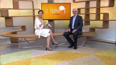 O tema é... elegância - Sandra Annenberg recebe o professor de Educação Corporativa Eugênio Mussak para conversar sobre o tema
