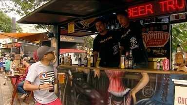 Festival gastronômico complementa festa da Virada na Paulista - Descontração da comida de rua fará parte da festa. Trinta food trucks estarão espalhados em três pontos da avenida.