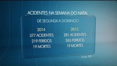 Feriado de Natal movimenta estradas de todo o Paraná - O destaque é o número de acidentes, que diminuiu comparado com a mesma época do ano passado.