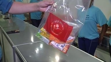 Entrega dos kits para corrida da São Silvestre iniciaram nesta segunda-feira - Entrega dos kits para corrida da São Silvestre iniciaram nesta segunda-feira