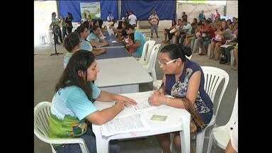Assinatura de contratos do 'Minha Casa Minha Vida' retorna em Santarém - Procedimento teve pausa para o Natal. Atendimento no Parque da Cidade segue até quarta-feira (30).