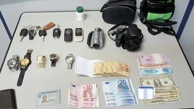 Polícia prendeu suspeito de roubo a condomínios da região - Ele seria o autor de pelo menos quatro assaltos desde 2014.