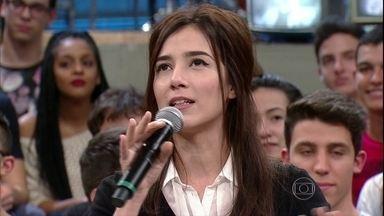 Marjorie Estiano relembra primeira participação no 'Altas': 'Foi uma fase bem louca' - Atriz conta que ficou surpresa com as mudanças na sua vida durante 'Malhação'