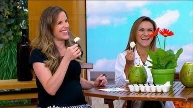 Picolé de coco pode ser consumido no lanche da tarde - Aprenda a receita de picolé de coco, que pode ser consumido diariamente, sem culpa.