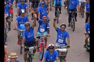 """""""Passeio ciclístico Belém 400 anos"""" movimentou as ruas da capital - """"Passeio ciclístico Belém 400 anos"""" movimentou as ruas da capital"""