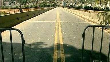 Ponte Florentino Avidas é interditada e complica trânsito em Colatina, ES - Interdição acontece para obras de reforma.