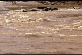 Rio Doce e Santa Cruz do Esvalvado sofrem com o impacto da lama da barragem de Mariana - Cidades são cortadas pelo Rio Doce e a economia depende do rio.