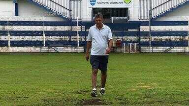 Ex-atacante tricolor Caio se recupera de cirurgia há mais de um ano em Ivoti, RS - Atleta morava de favor no Maranhão antes de treinar meninos que querem jogar futebol profissionalmente.
