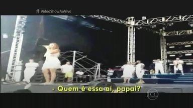 Ivete Sangalo: 'Quem é essa aí, papai?' - Cantora falou ao Fantástico sobre episódio em que teria chamado atenção do marido durante show na Bahia