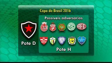 CBF sorteia os grupos da Copa do Brasil de 2016 nesta segunda-feira - Campinense e Botafogo-PB vão conhecer os adversários na competição.