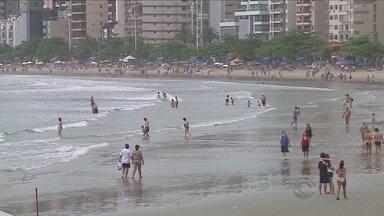 Balneabilidade das praias do Norte e do Sul de SC preocupa autoridades - Balneabilidade das praias do Norte e do Sul de SC preocupa autoridades