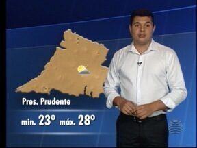 Tiago Rodrigues conta como ficará o tempo nesta terça-feira - Saiba como ficam as temperaturas no Oeste Paulista.